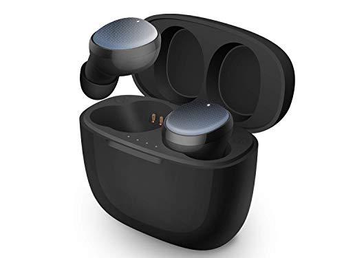 重低音Hi-fi 3Dステレオサウンド付きの完全ワイヤレスイヤホン、ブルートゥース5.0、内蔵高精細度マイクと500mAh充電ケース付きのブルートゥースインナーイヤー型ヘッドセット、ワンタップブルートゥース接続&IPX6防水