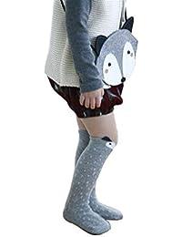 MEILI 靴下 子供 コットン ベビー 幼児用  キッズ 冷房対策 マウス ジュニア カラフル 女の子 2色