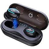 ワイヤレス イヤホン Kinganda Bluetooth イヤホン5.0第2世代 3Dステレオサウンド CVC8.0…
