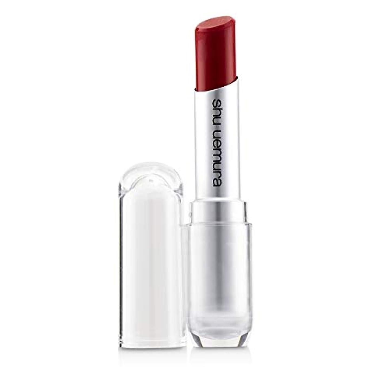 韓国語健康必須シュウウエムラ Rouge Unlimited Matte Lipstick - # M RD 144 3.4g/0.11oz並行輸入品