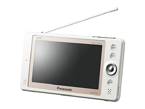 パナソニック  ポータブル  テレビ  SV-ME750-W ワンセグ ホワイト