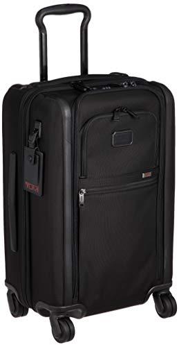 [トゥミ] スーツケース 公式 正規品 TUMI Alpha 3 インターナショナル・デュアル・アクセス・4ウィール・キャリーオン 機内持ち込み可 45L 56cm 10.7kg 02203560 02203560D3 Black