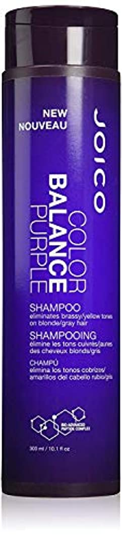 信じるシャーロットブロンテ参照するジョイコ Color Balance Purple Shampoo (Eliminates Brassy/Yellow Tones on Blonde/Gray Hair) 300ml/10.1oz並行輸入品