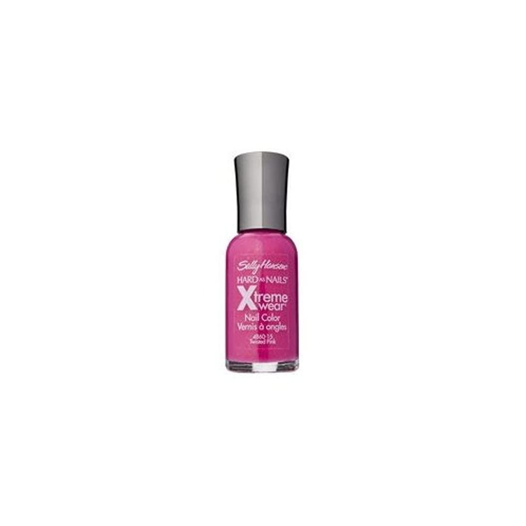 レース緩やかな考古学SALLY HANSEN Hard As Nails Xtreme Wear - Twisted Pink (並行輸入品)