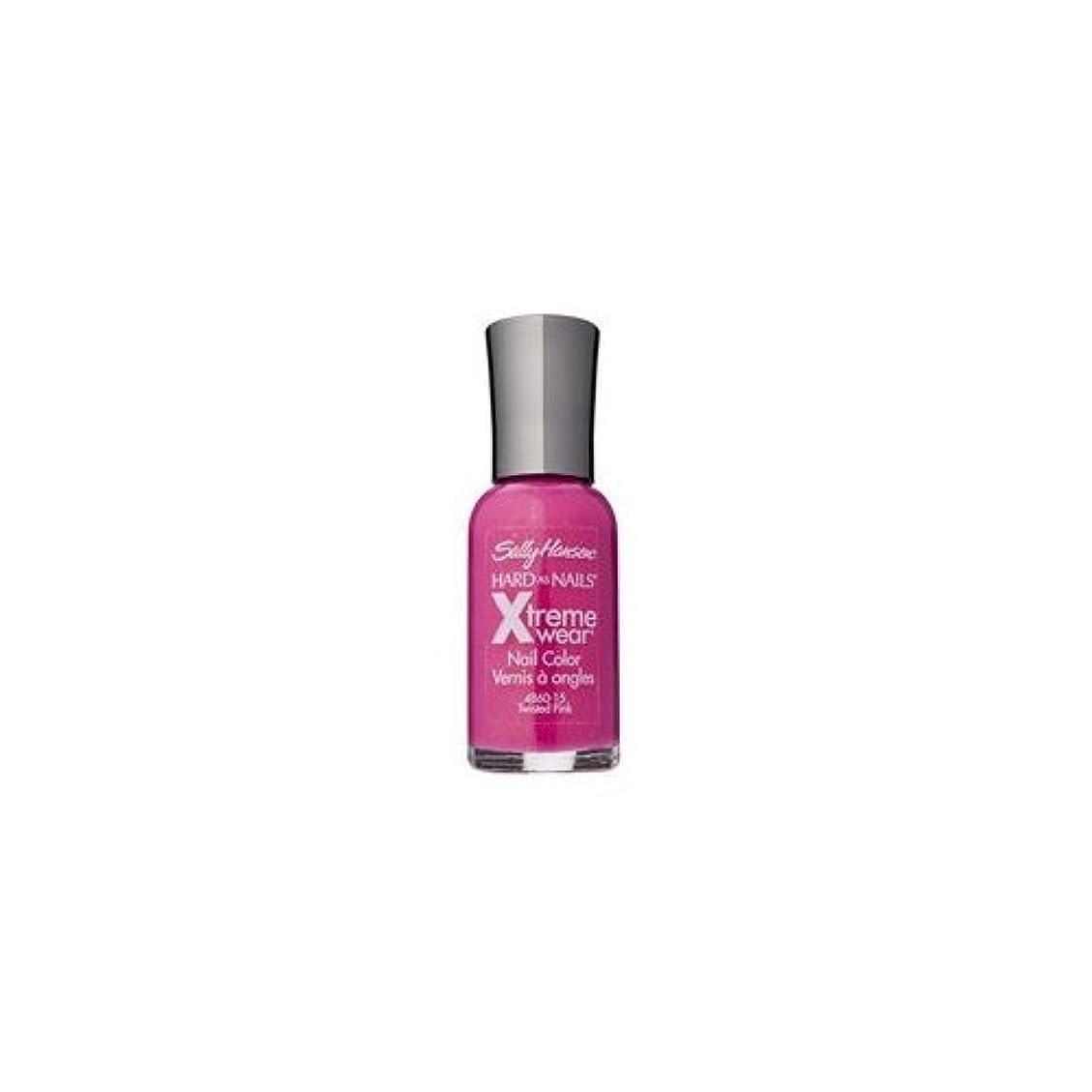 冷蔵する既に以降(3 Pack) SALLY HANSEN Hard As Nails Xtreme Wear - Twisted Pink (並行輸入品)