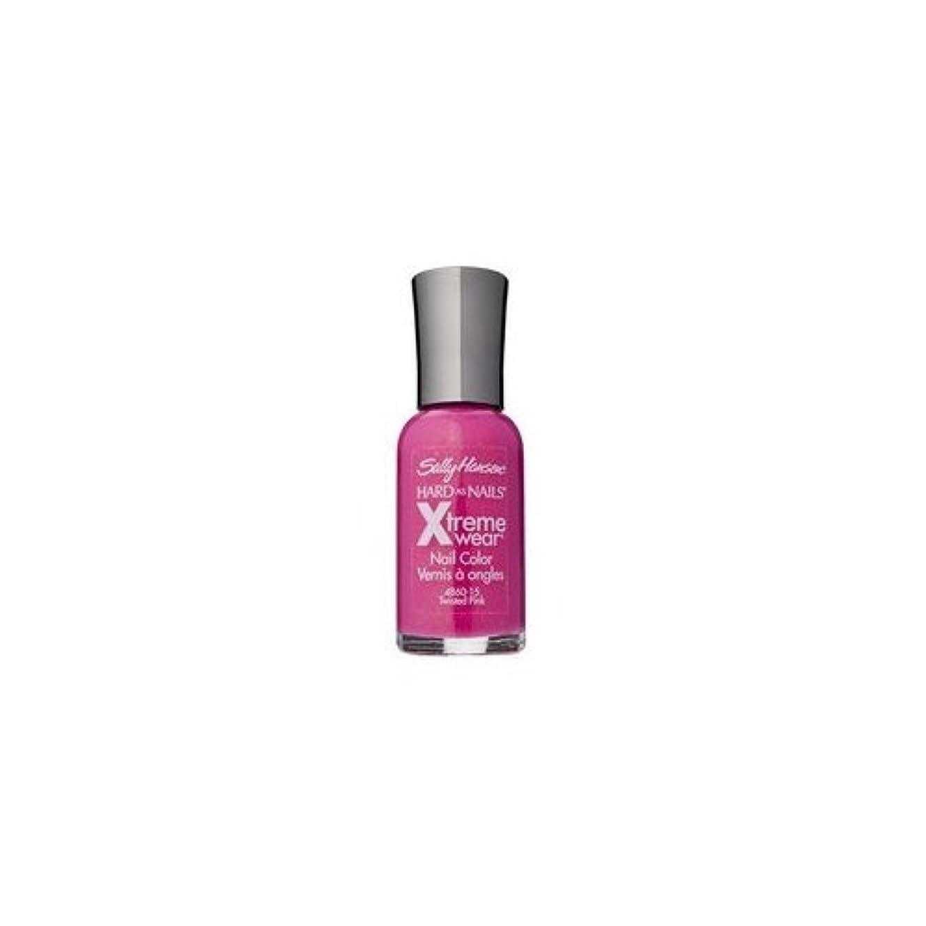 衝撃サラダ洪水(3 Pack) SALLY HANSEN Hard As Nails Xtreme Wear - Twisted Pink (並行輸入品)