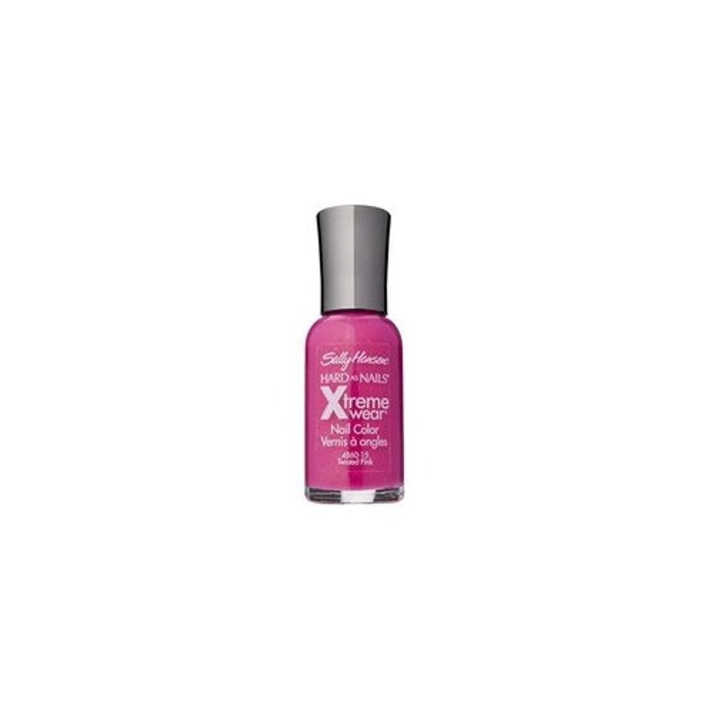 (6 Pack) SALLY HANSEN Hard As Nails Xtreme Wear - Twisted Pink (並行輸入品)