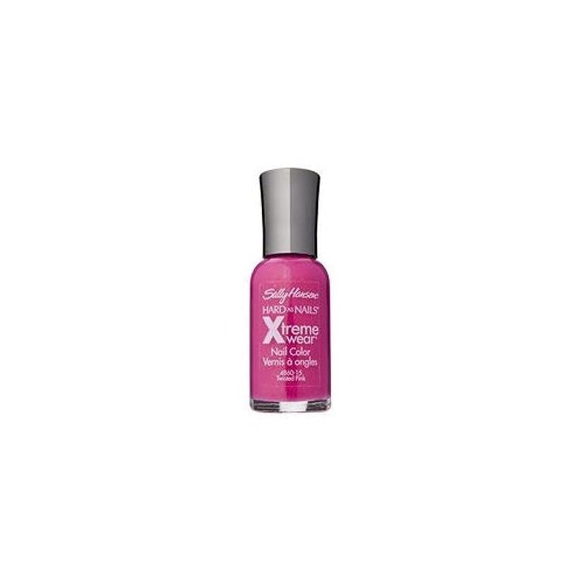 主観的のみデザイナー(3 Pack) SALLY HANSEN Hard As Nails Xtreme Wear - Twisted Pink (並行輸入品)