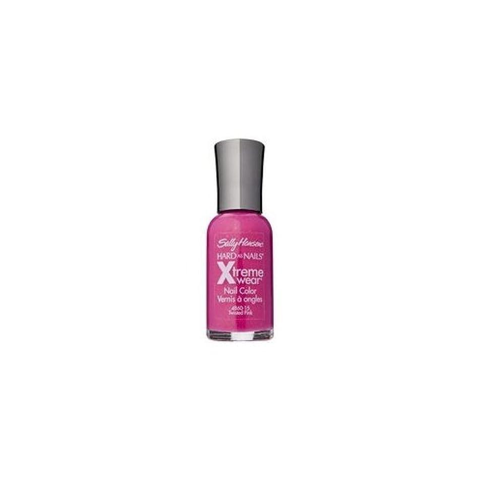 上がる憂鬱な方言(6 Pack) SALLY HANSEN Hard As Nails Xtreme Wear - Twisted Pink (並行輸入品)