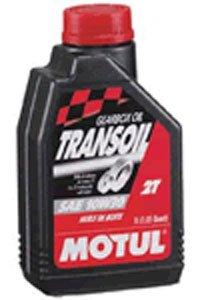 MOTUL(モチュール) TRANSOIL (トランスオイル) 10W30 2ストバイクトランスミッション用オイル(SAE80相当) [正規品] 1L 13306211