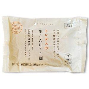 無農薬 生こんにゃく麺 (180gX2食入り) X12袋セット (着色料 保存料 合成添加物 不使用) (1食あたり 28.8kcal お手軽 ヘルシー ヌードル)