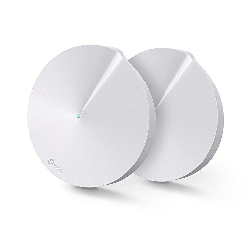 【Amazon.co.jp限定】TP-Link WiFi 無線LAN ルーター トレンドマイクロ セキュリティ 3年間無料 2ユニットセット メッシュ Wi-Fi システム Deco M5 【Amazon Alexa対応製品】