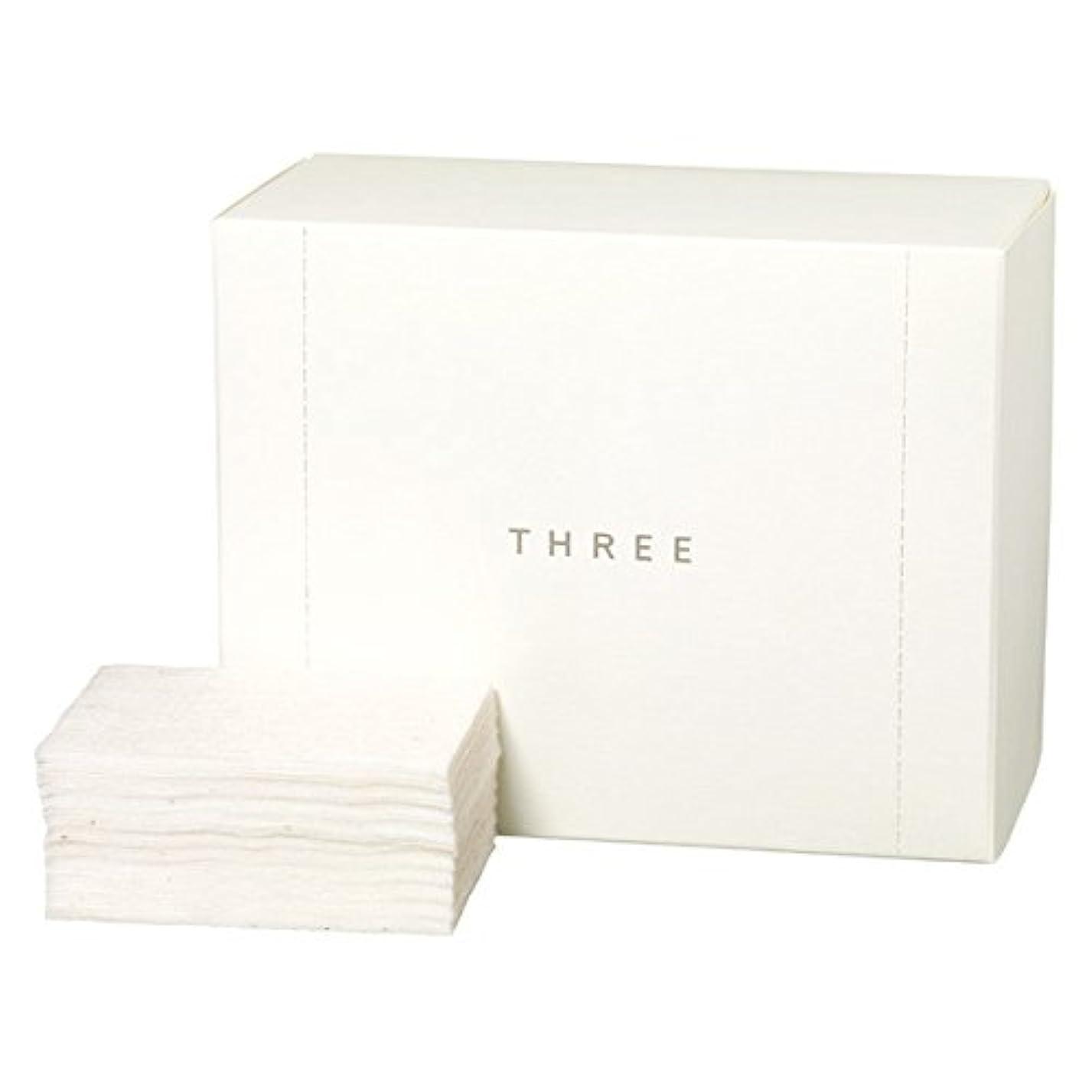 許容広範囲恋人THREE オーガニック コットン THREEショップバッグ付き