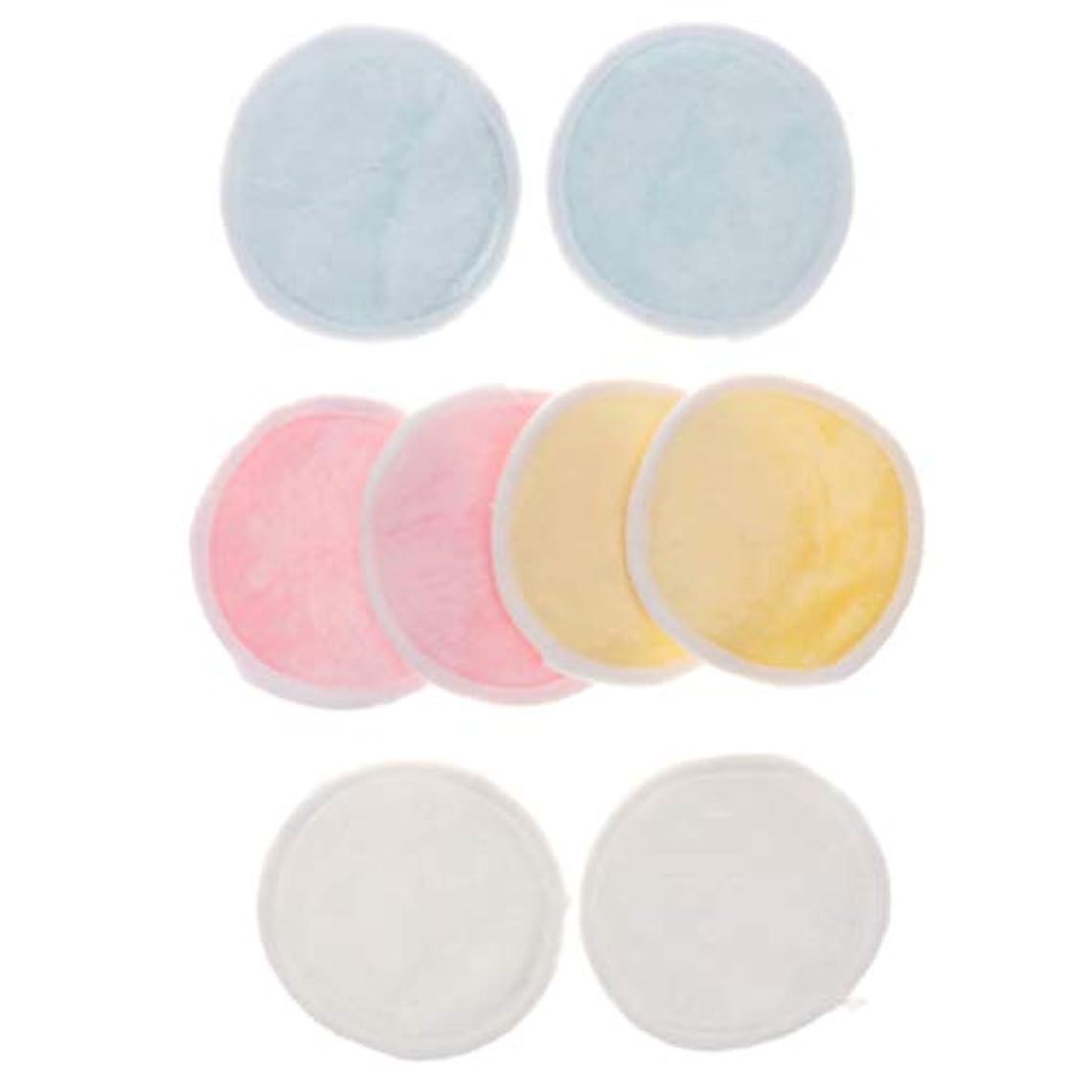 スクリーチ中央早熟B Blesiya クレンジングシート 化粧落としパッド メイク落としコットン 再使用可 化粧用 持ち運びに便利 8個入