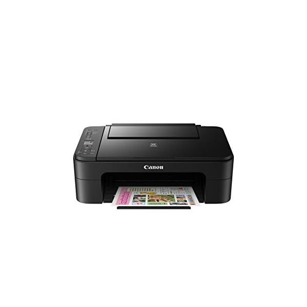 Canon Multi Function Home Printer PIXMA, Black (TS3160) 3