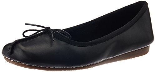 [クラークス] Clarks バレエシューズ Freckle Ice 20352929 Black Leather (ブラックレザー/UK 6)