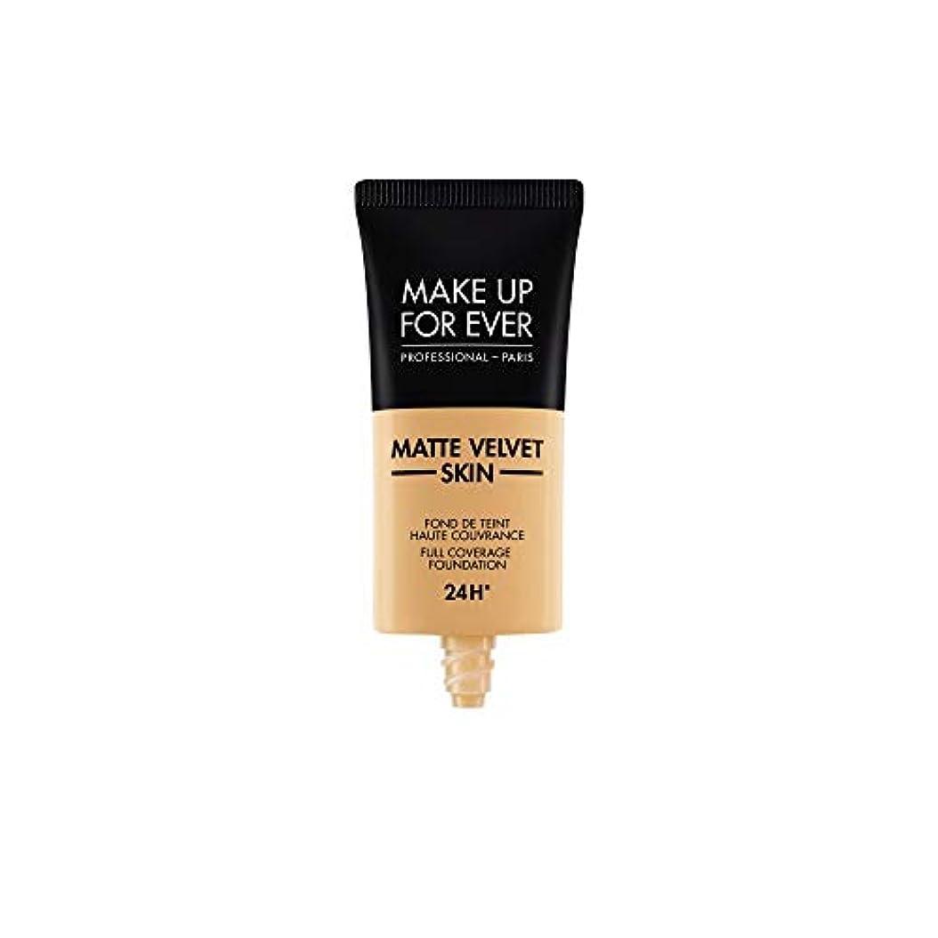 ぐったり学校教育病んでいるメイクアップフォーエバー Matte Velvet Skin Full Coverage Foundation - # Y365 (Desert) 30ml/1oz並行輸入品