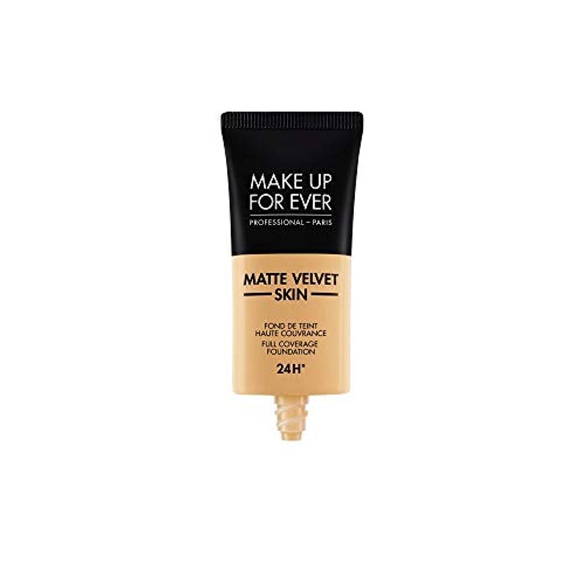 高価な原因市民権メイクアップフォーエバー Matte Velvet Skin Full Coverage Foundation - # Y365 (Desert) 30ml/1oz並行輸入品