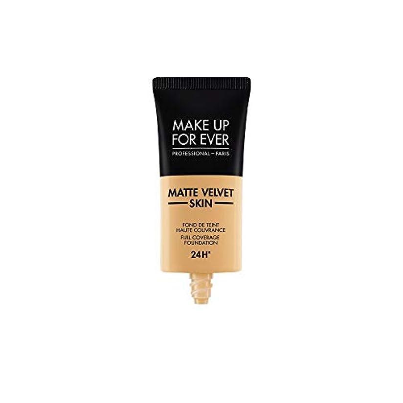 発症輝く肥料メイクアップフォーエバー Matte Velvet Skin Full Coverage Foundation - # Y365 (Desert) 30ml/1oz並行輸入品
