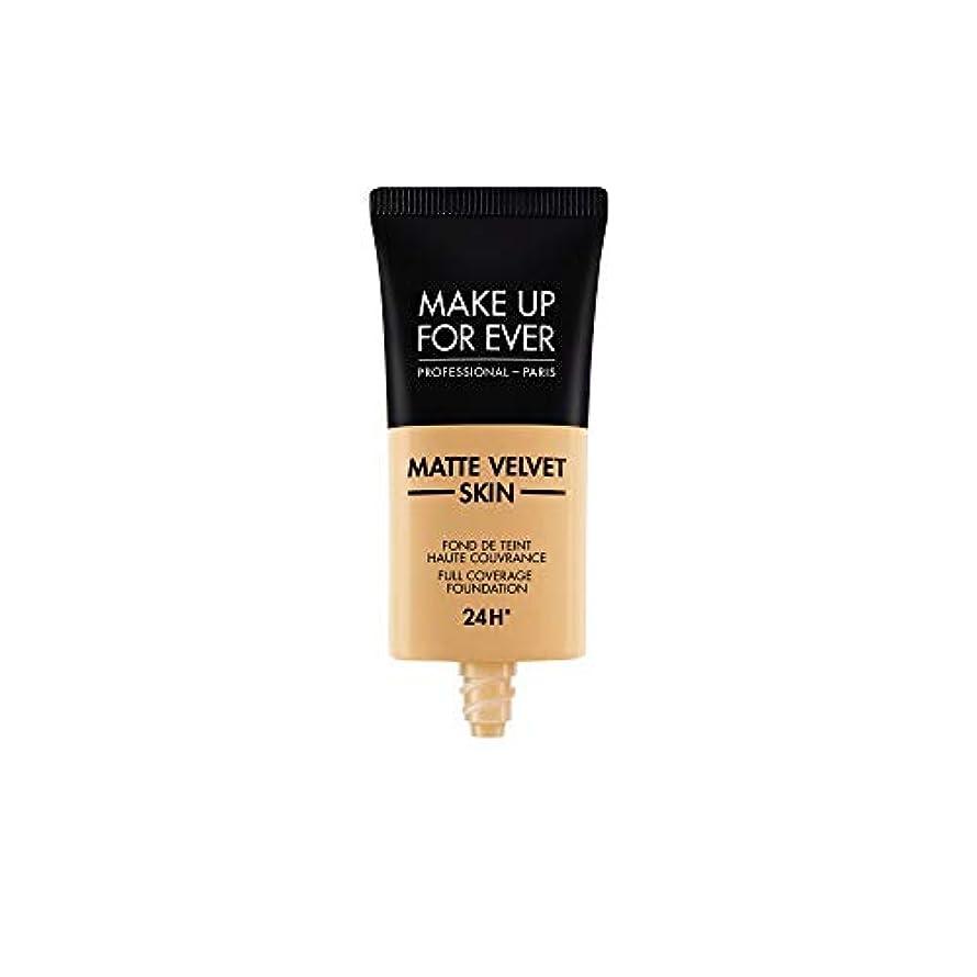 闇乱す石油メイクアップフォーエバー Matte Velvet Skin Full Coverage Foundation - # Y365 (Desert) 30ml/1oz並行輸入品