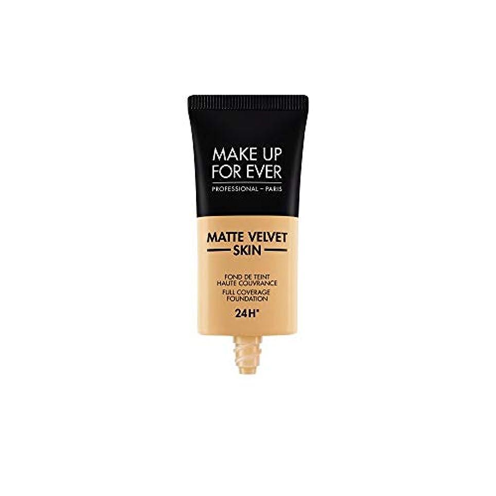 好戦的な抑制中傷メイクアップフォーエバー Matte Velvet Skin Full Coverage Foundation - # Y365 (Desert) 30ml/1oz並行輸入品