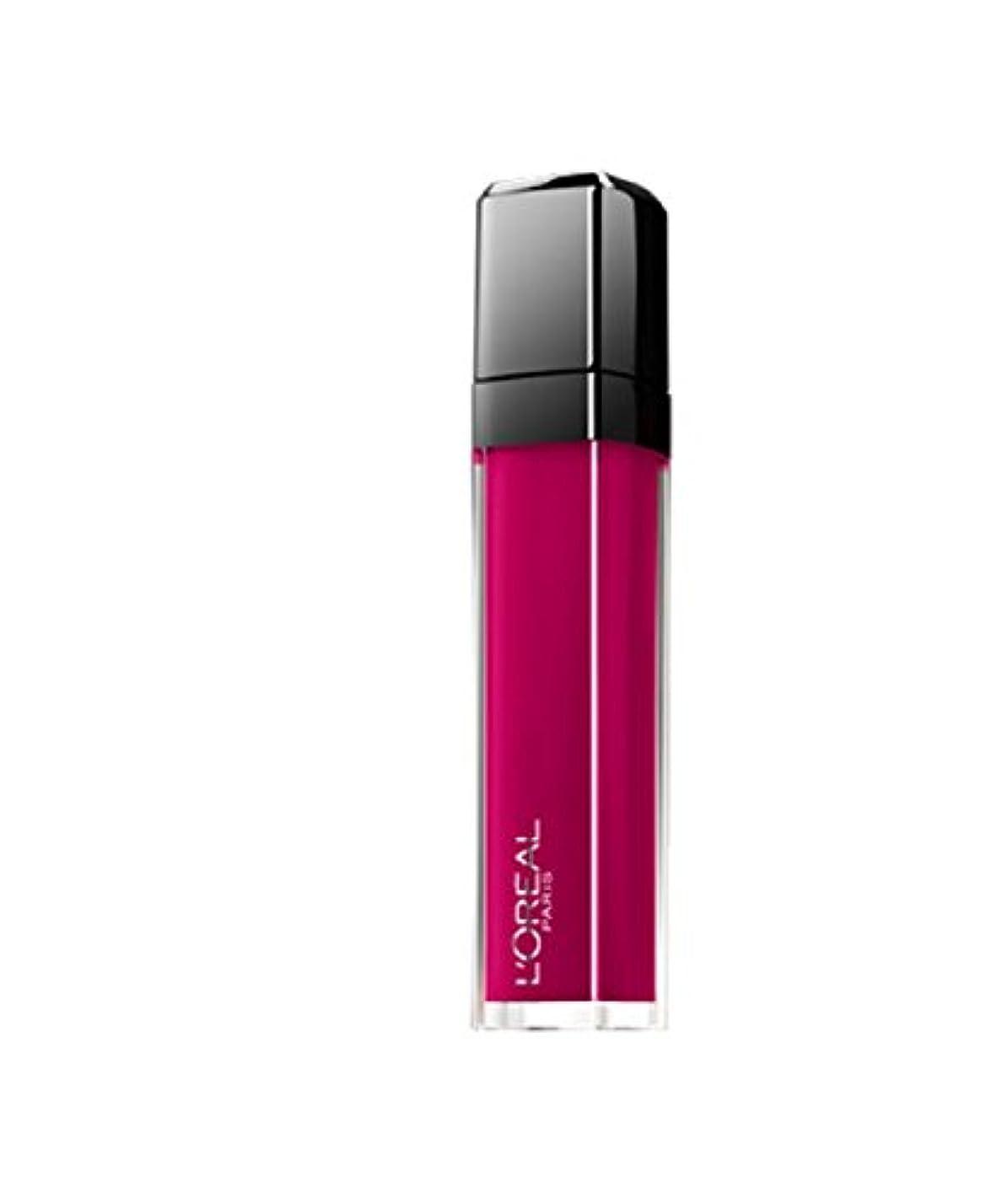 下是正する水分Gloss Unfehlbar Mega Gloss Matte L 'Oréal N ° 407 Smoke Me Up