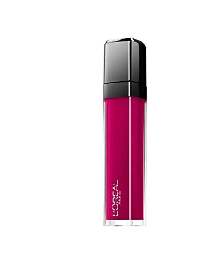 分割服を片付ける有限Gloss Unfehlbar Mega Gloss Matte L 'Oréal N ° 407 Smoke Me Up