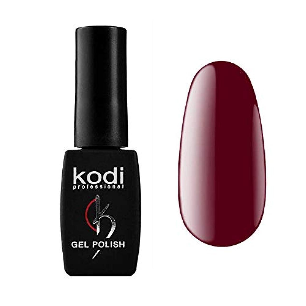 バングイソギンチャクより平らなKodi Professional New Collection WN WINE #20 Color Gel Nail Polish 12ml 0.42 Fl Oz LED UV Genuine Soak Off