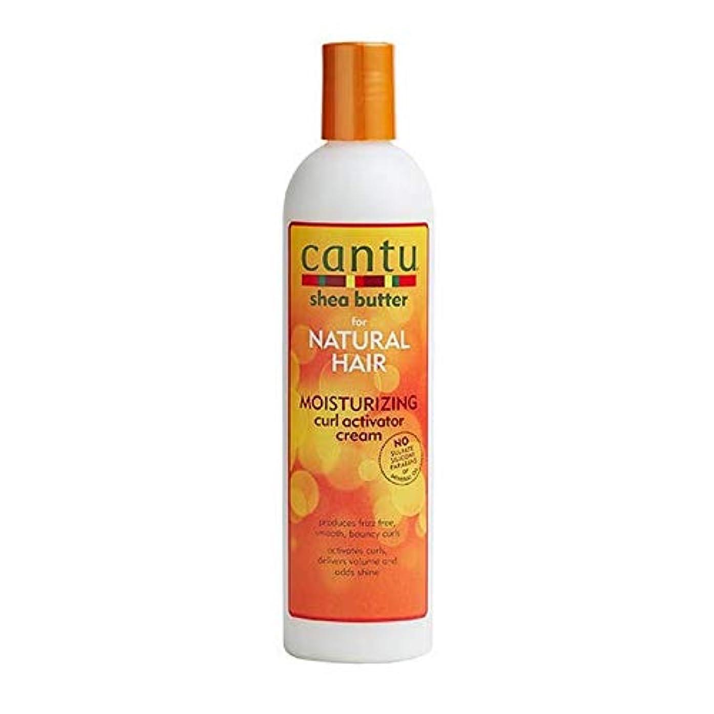 ふつう人里離れたポゴスティックジャンプ[Cantu ] カールアクチベータークリーム355ミリリットル保湿カントゥ自然な髪 - Cantu Natural Hair Moisturizing Curl Activator Cream 355ml [並行輸入品]