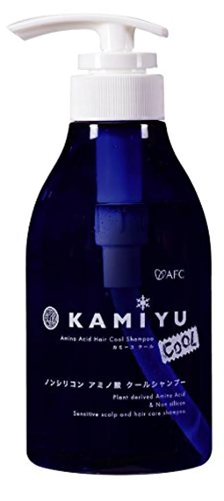 エアコン話をするスキムAFC(エーエフシー) 髪優(カミーユ) アミノ酸シャンプー クール 370ml