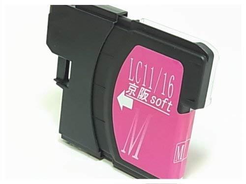 京阪soft ブラザー工業 互換インク マゼンタ LC11/16M