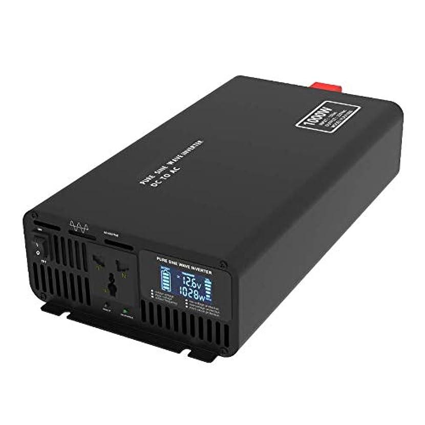 座標に変わる所属インテリジェントスクリーンピュア正弦波パワーインバーター2000W / 4000W / 6000W / 8000W、12V / 24V / 48V 110v / 220V変換アダプターLCDスクリーン,110v-8000W_12v