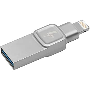 キングストン Lightning USBメモリ iPhone/iPad対応 MFi認証 64GB DataTraveler Bolt Duo C-USB3L-SR64G-EN 2年保証