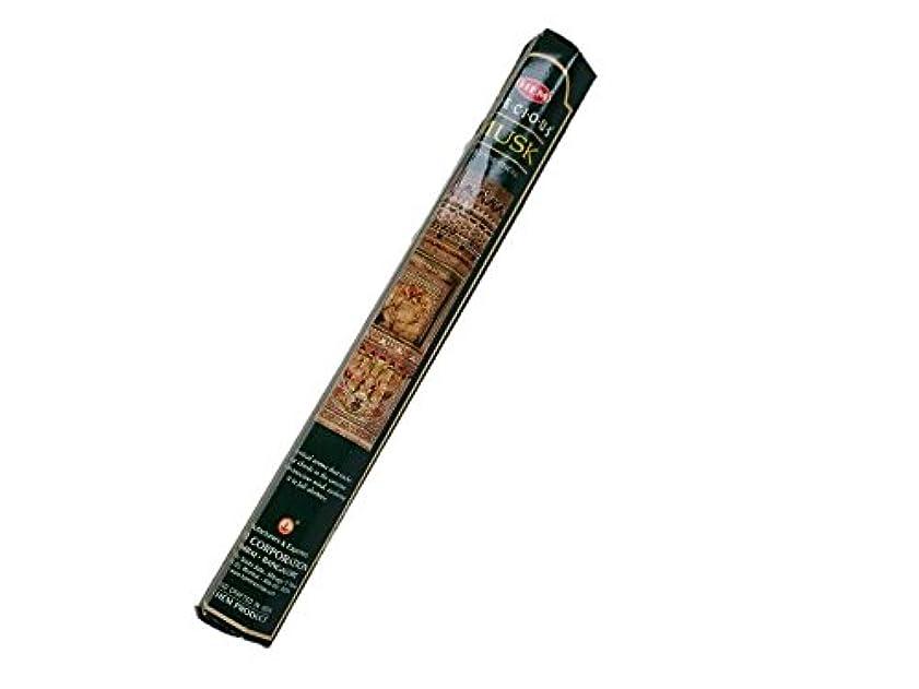 きちんとした不適切な浸漬HEM(ヘム)お香:プレシャスムスク スティックお香/インセンス/1箱
