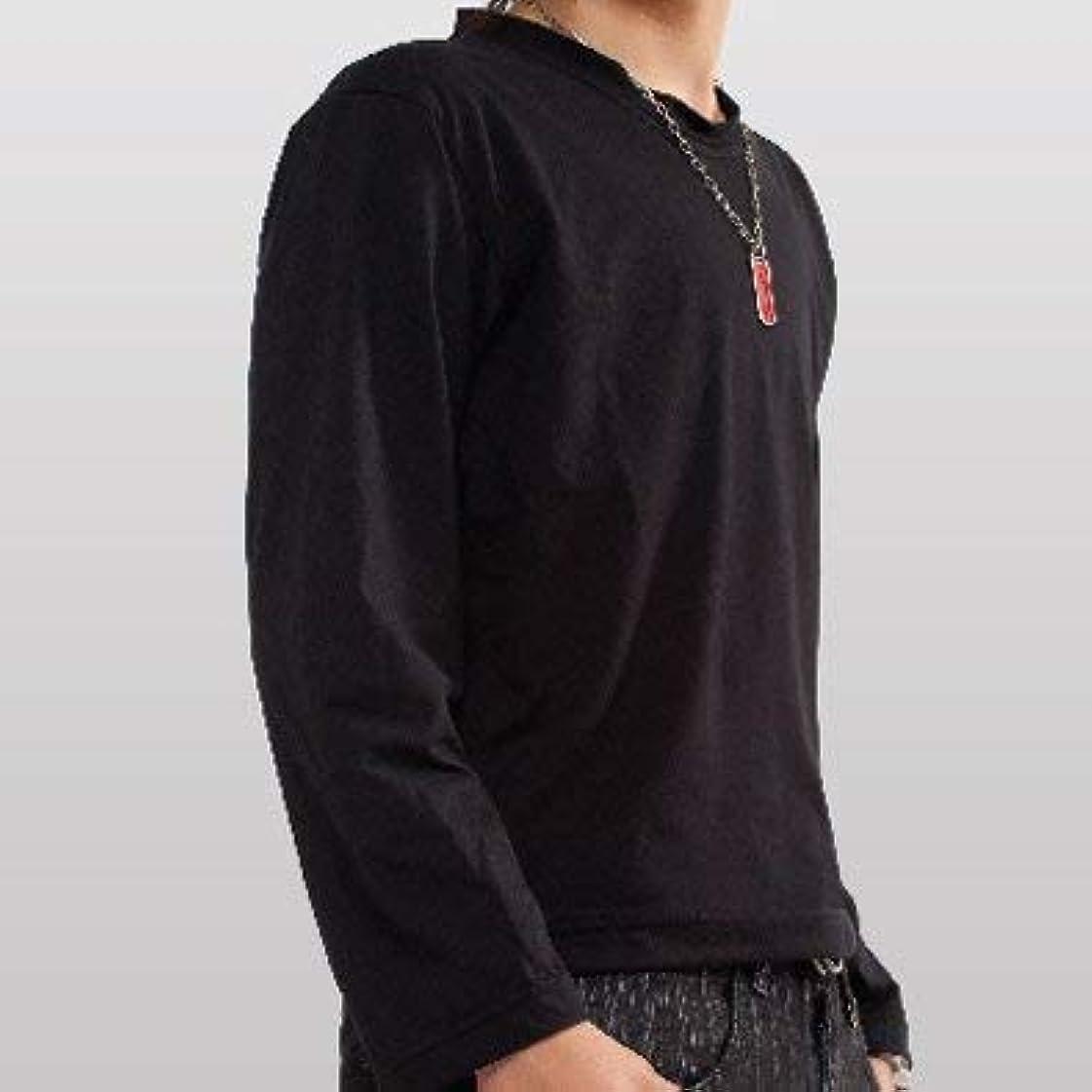 ジュニア別の長さナベシャツ?flat-One?長袖 (M)