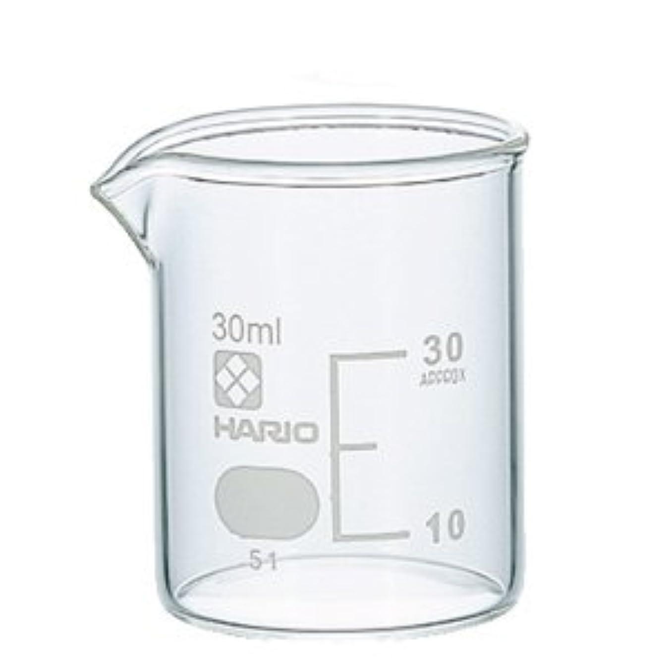 リア王直感トリクルガラスビーカー 30ml 【手作り石鹸/手作りコスメ/手作り化粧品】