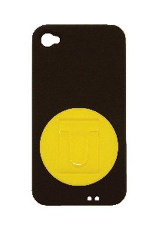 iDress for iPhone 4S/4 SMART スタンドカバー イエロー/i4S-10YE