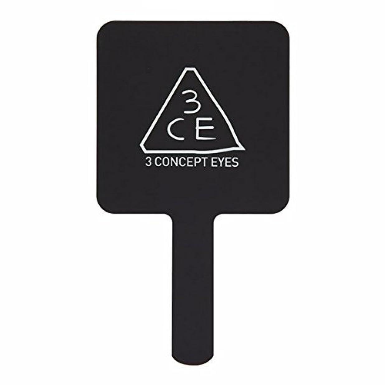 一般化する生産的使用法3CE ハンドミラー M ブラック 1個 (並行輸入品)