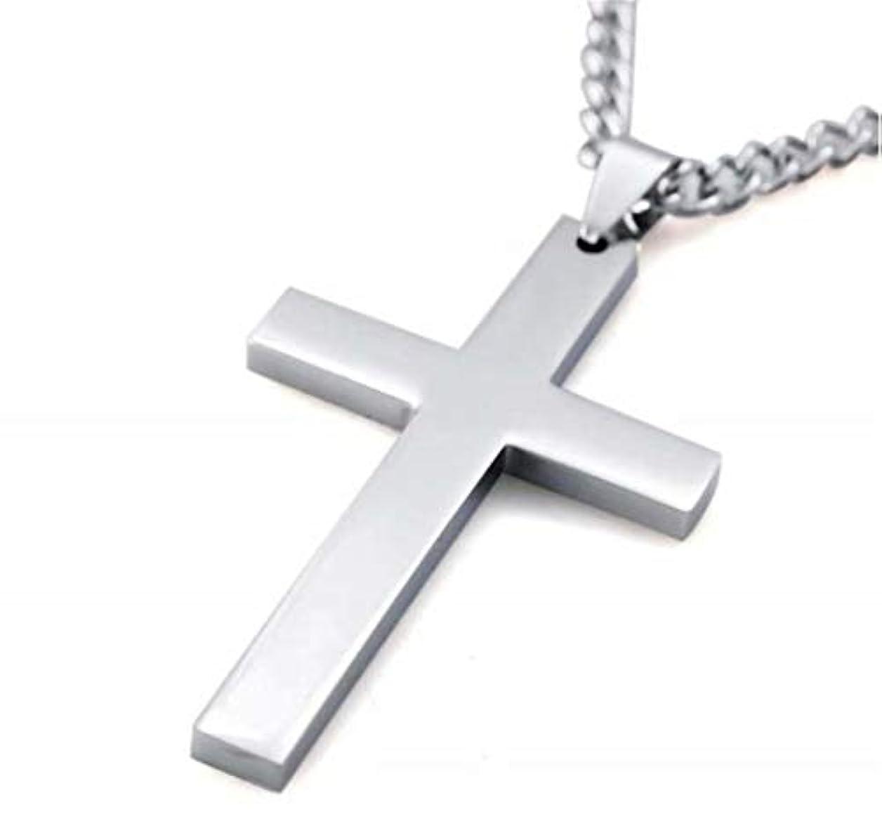 アンテナローブ敗北七里の香 メンズ レディース シルバー 十字架 クロス ペンダント ネックレス