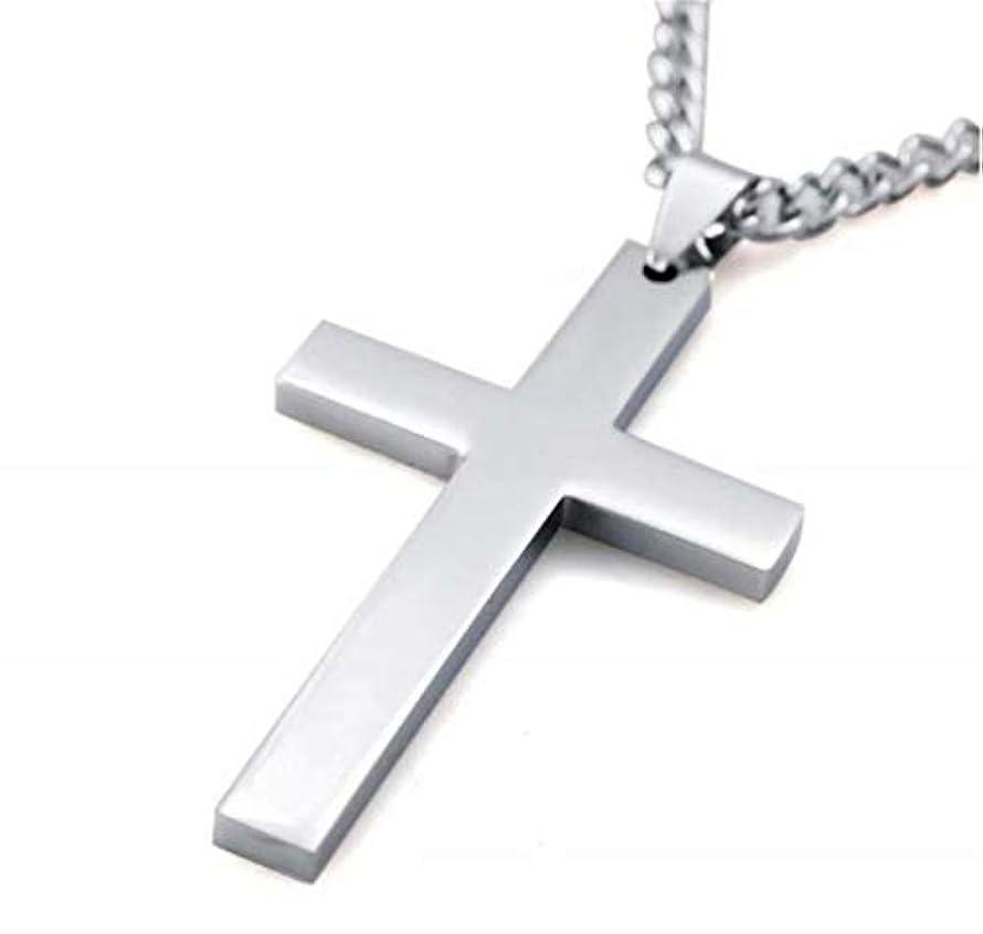 ソファー中世のコントロール七里の香 メンズ レディース シルバー 十字架 クロス ペンダント ネックレス