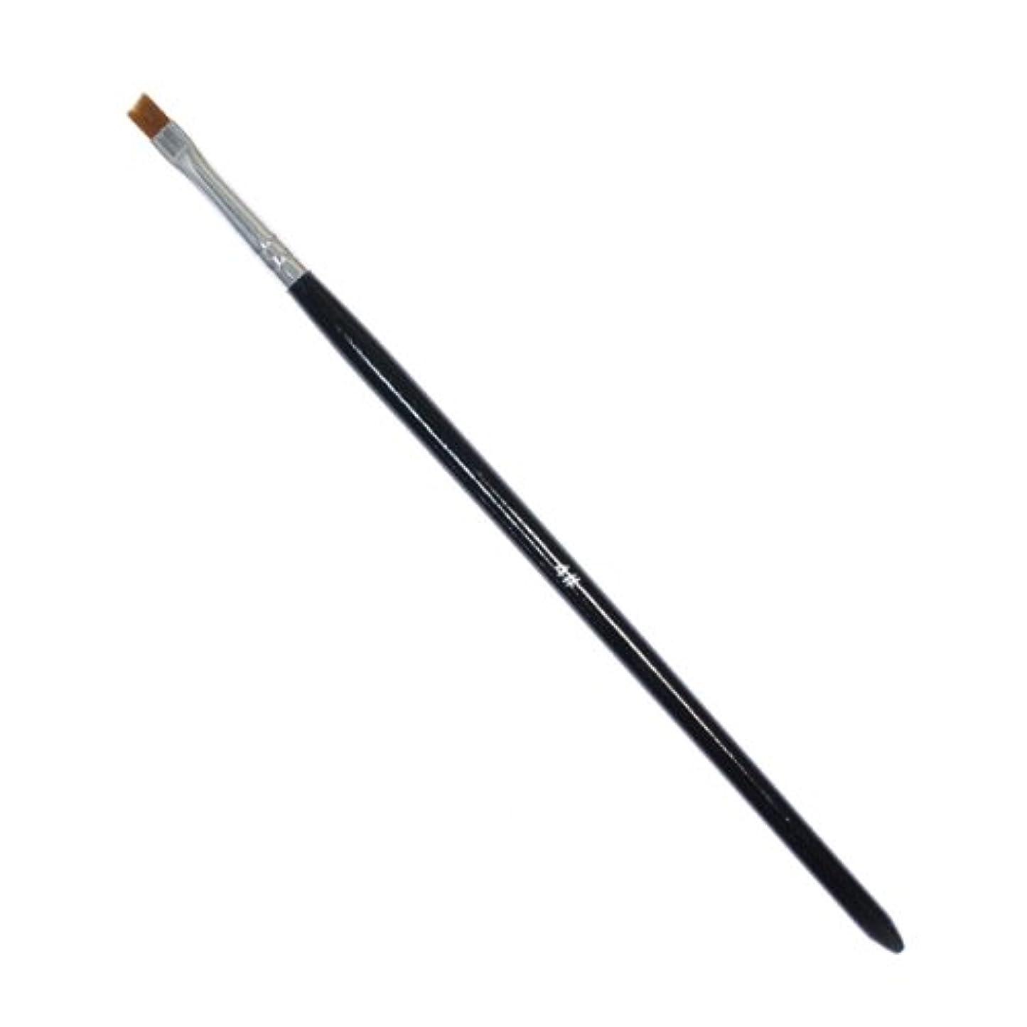 容赦ないなのでブラザー斜めカットのジェルネイルブラシ#4 ジェル用筆