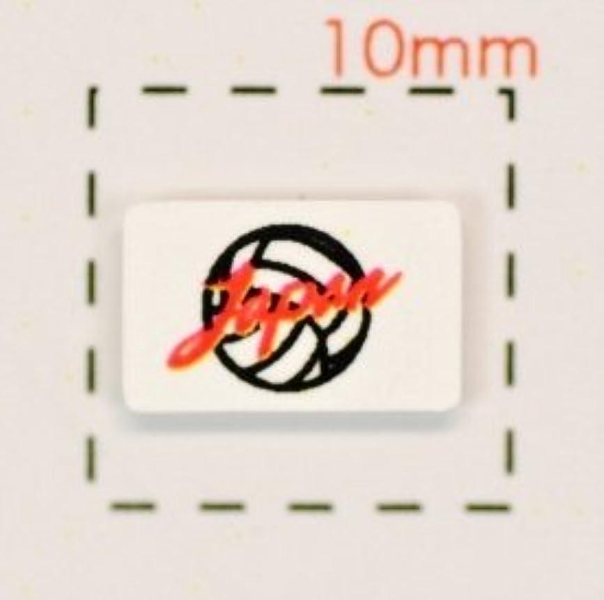 インスタンス里親言い訳バレーボール(応援)ボール&Japan/1シート12枚(火の鳥ジャパン?ワールドカップ?日本代表)【ネイルシール】