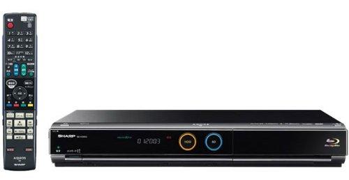 シャープ 500GB 2チューナー ブルーレイレコーダーAQUOS BD-HDW45
