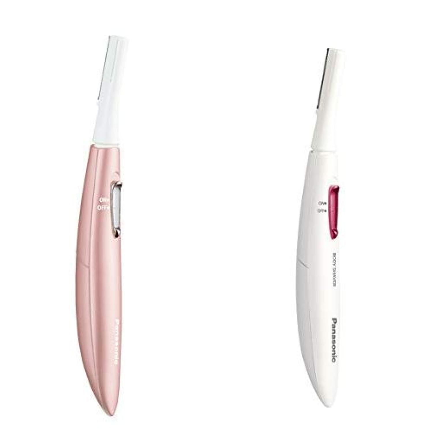 定常安全栄光のパナソニック フェイスシェーバー フェリエ ピンク ES-WF61-P + レディースシェーバー フェリエ ボディ用 セット