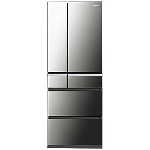 パナソニック 501L 6ドア冷蔵庫(オニキスミラー)Panasonic エコナビ NR-F502XPV-X