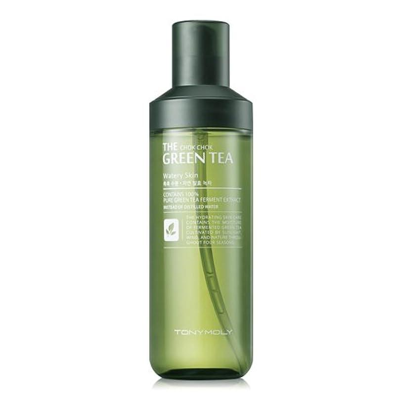 フェードアウト金属ポンドTONYMOLY The Chok Chok Green Tea Watery Skin 180ml/トニーモリー ザ チョクチョク グリーンティー ウォーターリー スキン 180ml