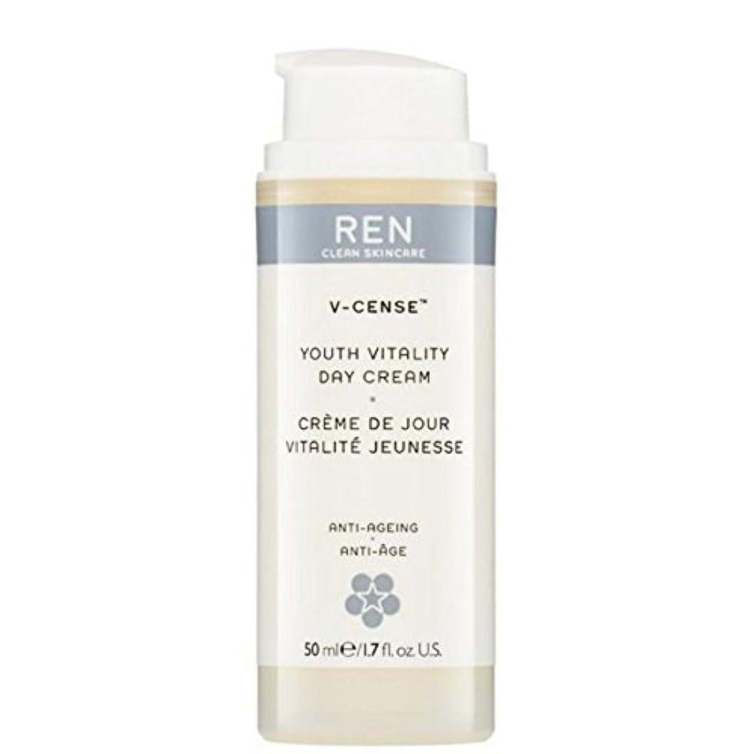 野ウサギたっぷり波紋REN V-Cense Revitalising Night Cream - の-リバイタライジングナイトクリーム [並行輸入品]