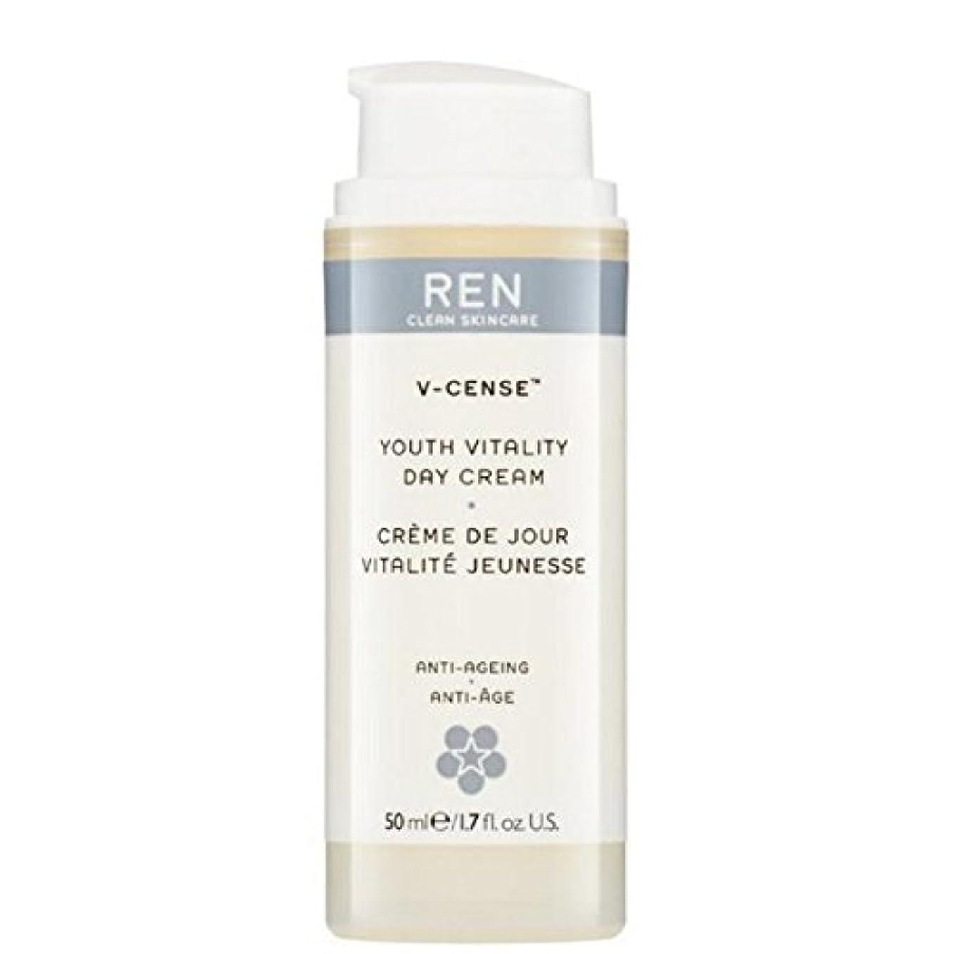教育学代表団道路の-リバイタライジングナイトクリーム x2 - REN V-Cense Revitalising Night Cream (Pack of 2) [並行輸入品]