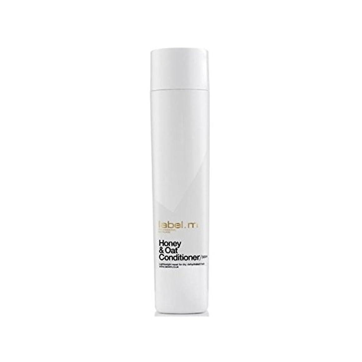 精神降臨全員.ハニー&オーツ麦コンディショナー(300ミリリットル) x4 - Label.M Honey & Oat Conditioner (300ml) (Pack of 4) [並行輸入品]