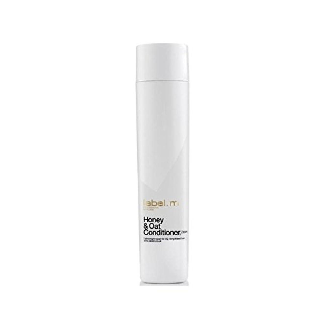 ネットスタッフ銀河Label.M Honey & Oat Conditioner (300ml) - .ハニー&オーツ麦コンディショナー(300ミリリットル) [並行輸入品]